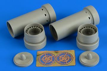 Phantom FGR.2 - Exhaust nozzles [Hasegawa] · AIR 4770 ·  Aires Hobby Models · 1:48
