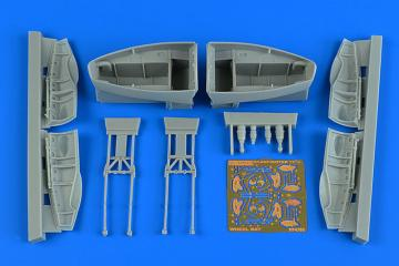 Beaufighter TF.X - Wheel bay set [Revell] · AIR 4786 ·  Aires Hobby Models · 1:48
