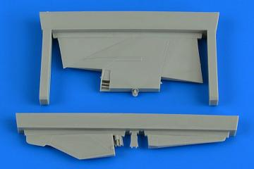 MiG-23MF/MLD - Correct tail fin [Trumpeter] · AIR 4791 ·  Aires Hobby Models · 1:48