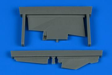 MiG-23ML - Correct tail fin [Trumpeter] · AIR 4792 ·  Aires Hobby Models · 1:48
