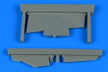 MiG-23BN - Correct tail fin [Trumpeter] · AIR 4794 ·  Aires Hobby Models · 1:48