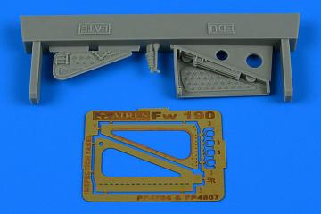 Focke Wulf Fw 190 - Inspection panel - late [Eduard] · AIR 4807 ·  Aires Hobby Models · 1:48