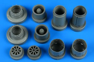 Dassault Rafale C - Exhaust nozzles [Revell] · AIR 4828 ·  Aires Hobby Models · 1:48