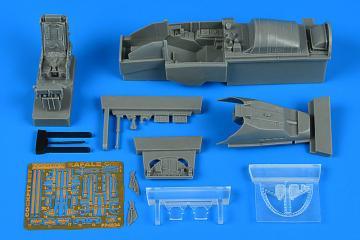 Rafale C/M - Cockpit set [Revell] · AIR 4834 ·  Aires Hobby Models · 1:48