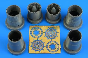 Su-27 Flanker B - Exhaust nozzles [Kitty Hawk] · AIR 4835 ·  Aires Hobby Models · 1:48
