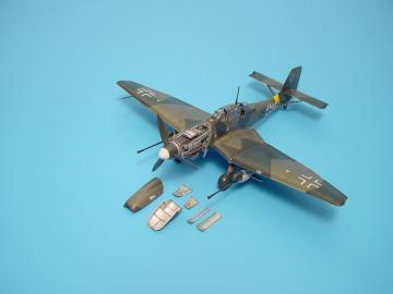 Junkers Ju 87 G Stuka · AIR 7096 ·  Aires Hobby Models · 1:72