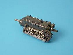 DB 601E/N - Engine · AIR 7104 ·  Aires Hobby Models · 1:72