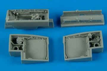 J35 Draken - Wheel bays [Hasegawa] · AIR 7200 ·  Aires Hobby Models · 1:72