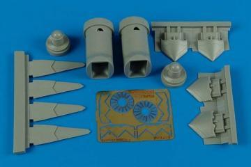 F-22A Raptor - Exhaust nozzles [Fujimi] · AIR 7268 ·  Aires Hobby Models · 1:72