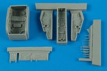F-100C/D Super Sabre - Wheel bay [Trumpeter] · AIR 7279 ·  Aires Hobby Models · 1:72
