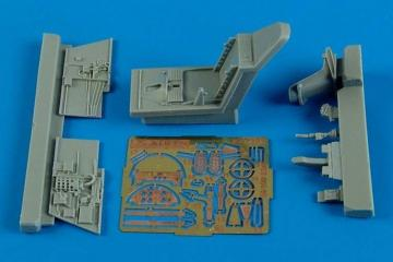 Messerschmitt Bf 109 E-3/E-4 - Cockpit set [Airfix] · AIR 7292 ·  Aires Hobby Models · 1:72