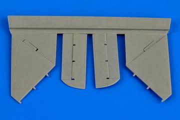 A-4B Skyhawk - Control surfaces [Airfix] · AIR 7312 ·  Aires Hobby Models · 1:72