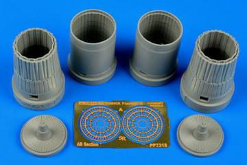 Su-30MKK Flanker G - Exhaust nozzles [Trumpeter] · AIR 7318 ·  Aires Hobby Models · 1:72