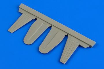 Boulton Paul Defiant - Control surface [Airfix] · AIR 7331 ·  Aires Hobby Models · 1:72