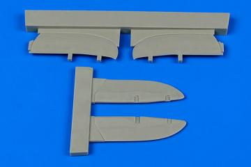 I-153 Chaika control surfaces · AIR 7340 ·  Aires Hobby Models · 1:72