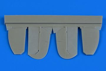 Spitfire Mk.IX - Control surfaces (metal) [Eduard] · AIR 7351 ·  Aires Hobby Models · 1:72