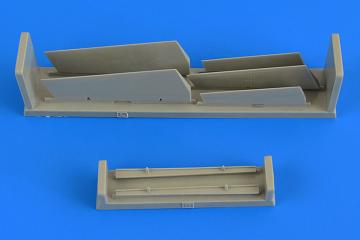 A-7 Corsair II - Control surfaces [Fujimi] · AIR 7356 ·  Aires Hobby Models · 1:72