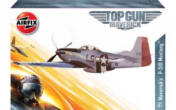 Top Gun - Maverick´s P-51D Mustang · AX 00505 ·  Airfix · 1:72