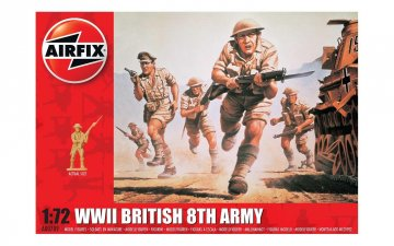WWII British 8th Army (48 Figuren) · AX 00709 ·  Airfix · 1:72