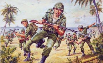 US Marines - Vintage Classics · AX 00716V ·  Airfix · 1:76