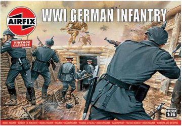 WWI German Infantry,Vintage Classics · AX 00726V ·  Airfix · 1:76