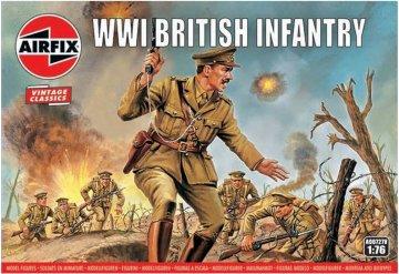 WWI British Infantry, Vintage Classics · AX 00727V ·  Airfix · 1:76