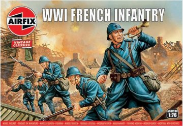WWI French Infantry, Vintage Classics · AX 00728V ·  Airfix · 1:76