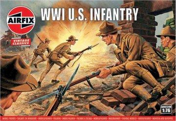 WWI U.S. Infantry, Vintage Classics · AX 00729V ·  Airfix · 1:76