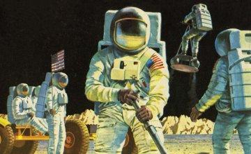 Astronauts · AX 00741V ·  Airfix · 1:76