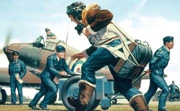 RAF Personnel - Vintage Classics · AX 00747V ·  Airfix · 1:76