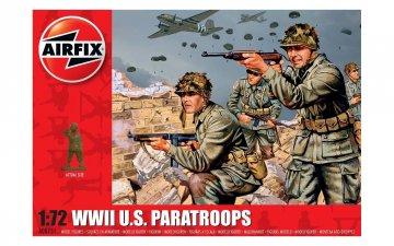 WWII US Paratroops (48 Figuren) · AX 00751 ·  Airfix · 1:72