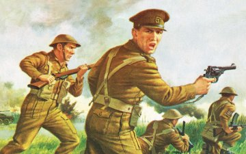 WWII British Infantry - Vintage Classics · AX 00763V ·  Airfix · 1:76
