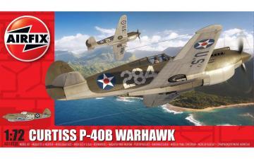 Curtiss P-40B Warhawk · AX 01003B ·  Airfix · 1:72
