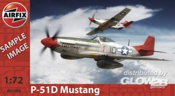 P-51D Mustang · AX 01004 ·  Airfix · 1:72