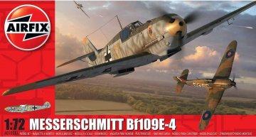 Messerschmitt Bf 109 E-4 · AX 01008A ·  Airfix · 1:72