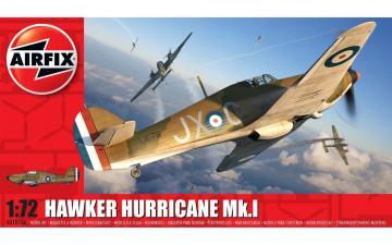 Hawker Hurricane Mk.I · AX 01010A ·  Airfix · 1:72