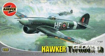 Hawker Typhoon Ib · AX 01027 ·  Airfix · 1:72