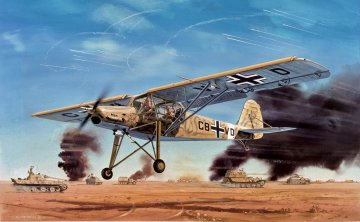 Fiesler Storch - Vintage Classics · AX 01047V ·  Airfix · 1:72