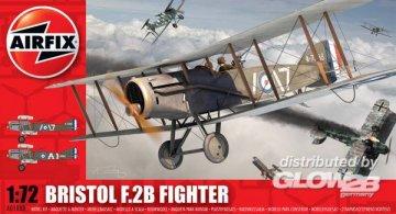Bristol Fighter F2B · AX 01080 ·  Airfix · 1:72