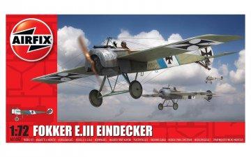 Fokker E.III Eindecker · AX 01087 ·  Airfix · 1:72