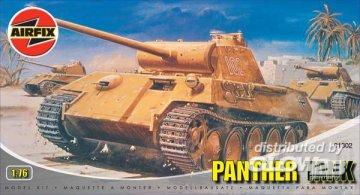 Deutscher Panzer Panther · AX 01302 ·  Airfix · 1:76