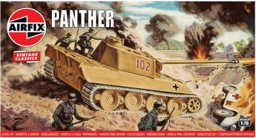 Panther Tank, Vintage Classics · AX 01302V ·  Airfix · 1:76