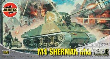 M4 Sherman Mk I · AX 01303 ·  Airfix · 1:76