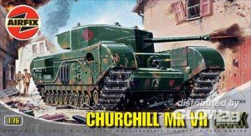 Churchill Mk. VII · AX 01304 ·  Airfix · 1:76