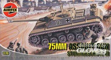 75mm Assault Gun · AX 01306 ·  Airfix · 1:76