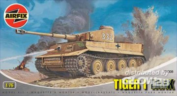Tiger I · AX 01308 ·  Airfix · 1:76