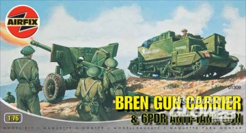 Bren Gun Carrier · AX 01309 ·  Airfix · 1:76