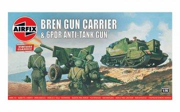 Bren Gun Carrier& 6 pdr AT Gun,Vintage Classics · AX 01309V ·  Airfix · 1:76