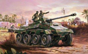 Sd.Kfz 234 - Armoured Car · AX 01311V ·  Airfix · 1:76
