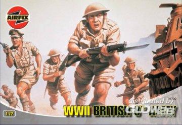 Britische Infanterie / 8th Army · AX 01709 ·  Airfix · 1:72
